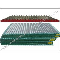 China SS304 / SS316 Material Shale Shaker Screen , Double / Triple Deck Vibrating Screen on sale