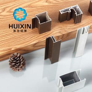 China aluminium extrusion profile manufacture gold anodized aluminum profile for building on sale