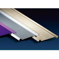 Best 100mm Height Metal Ceiling Channel , Shops Aluminium Ceiling Tiles Sound Insulation wholesale