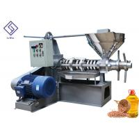 China Mustard Seeds Peanuts Cold Press Oil Extractor Spiral Oil Making Machine With Low Nosie on sale