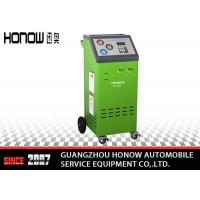 Best Hunt Leakage Automotive AC Recovery Machine With High Duty Vacuum Pump wholesale
