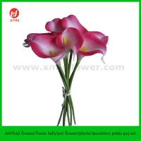 "Best 13"" Wedding Flower of PU Calla Lily Bouquet x 7 wholesale"