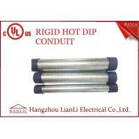 Best RGD Galvanized Rigid Steel Conduit , 1/2 Inch 4 inch Electrical Conduit Tubing wholesale