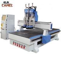 Best CA-1325 Professional cnc wood funiture 1325 /three pneumatic spindle cnc router wholesale
