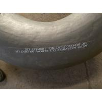 Best WP22 Material Grade Butt Weld Fittings ASTM A234 WP22 CL3 Black Surface wholesale