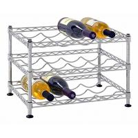 China Classics Stackable Storage Holder Metal Wire Shelving Bar Display Stand Vintage on sale