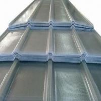 Best Translucent Corrugated Roof Sheet with 75MPa Tensile Strength, Made of High Steel and Tenacity FRP wholesale