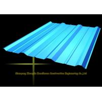 Best Long Span Color Coated Metal Corrugated Roofing Sheets / PPGI Roof Steel Panels wholesale