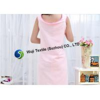 Best Blue Pink Microfiber Bath Tub Skirt for Women , Wearable Beach Towel wholesale