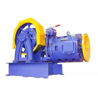 Buy cheap Elevator Parts / Geared Traction Machine With AC Motor , Load 1000 - 2000 KG SN from wholesalers