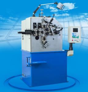 CNC Deformed Metal Compression Spring Machine , Spring Making Equipment