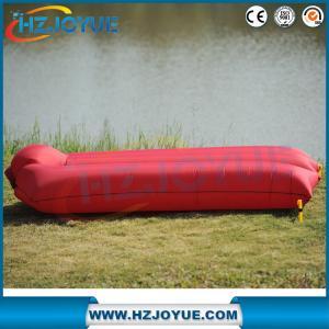 China Camping Portable Air Sofa Beach Bed Air Hammock Nylon Lazy Bag Lounger on sale