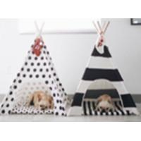 China Hot sale Factory Customized Pet Teepee/Wooden Style Pet House Indoor Dog Teepee on sale
