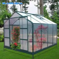 China Multi Span Clear Polycarbonate Film Greenhouse Plastic Shed Agricultural on sale