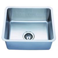China stainless steel sink KUS1917N(undermount sink series)SS304,small angle corners,manufacturer on sale