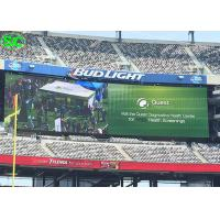 Buy cheap P10 High refresh rate Basketball Stadium LED Display with 5 Years Warranty from wholesalers