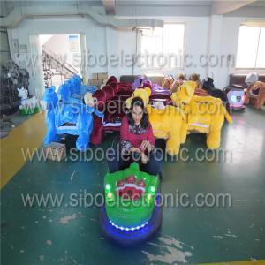 Best Amusement Park Bumper Car Rides Single Player Car Racing Machine With Electronic wholesale