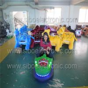 Best Playground Equipment Kids Dodgem Car for Amusement Rides , Battery Powered Ride wholesale