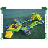 China Eco Friendly Inflatable Water Parks Double Stitch For Thirty Five People wholesale