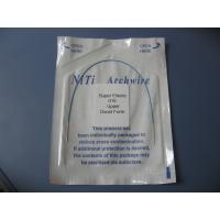 Buy cheap orthodontic coated colorizedr niti archwire from wholesalers