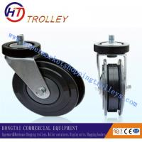 Best Heavy Duty Industrial 5 Castor Of Shopping Trolley Spare Parts Double Sides wholesale