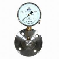 China Exact Low Pressure Gauge, Comes in Various Dial Sizes on sale