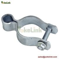 Best Galvanized Metal Chain Link Fence Accessories Fence Gate Post Hinge wholesale