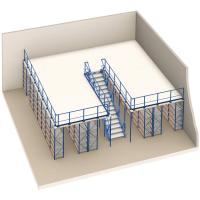 Buy cheap Customized Warehouse Multi-lever Storage Mezzanine Rack Floor System from wholesalers