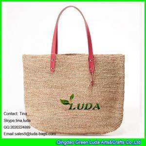 Best LDLF-059 fashion women summer raffia crochet straw beach bag wholesale
