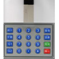 Best Customizable Keypad Tactile Membrane Switch With Metal Dome , Insulation Resistance wholesale