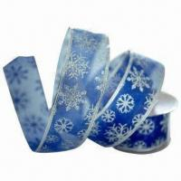 China Silk Ribbon, Widely Used for Gift Decorations on sale