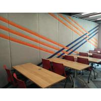 Conference Rooms Movable Partition Wall , Folding Panel Partitions Retractable Pressure Seal