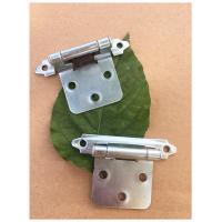 China Np Color Butterfly Flush Mount Cabinet Hinges Long Working Life High Durability on sale