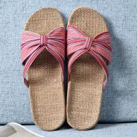 Best Indoor Womens Open Toe House Slippers Casual Slides Shoes Anti Skid Sole wholesale