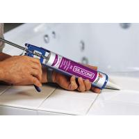 White Color Weatherproof Neutral Sanitary Silicone Sealant Buliding Mildew Resistance