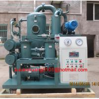 China Transformer oil filtration plant / Dehydration / degasification machine on sale