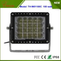 "Best 8"" 100W LED Work Light Spot or flood Beam for Heavy Duty Driving Light for jeep,truck,suv wholesale"