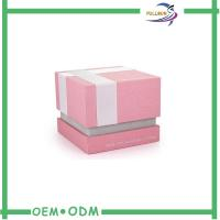 China Customized Pink Unique Cardboard Jewelry Boxes Offset Printing wholesale