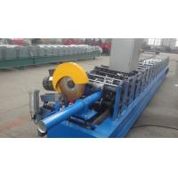 Best Hydraulic Motor Square Pipe Roll Forming Machine 0.3 - 0.8 Mm Coil Sheet Thickness wholesale
