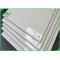 China Thickness 1.28 2.24 3.2MM Grey Board / Recycled Paper Size Customized For Box on sale
