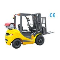 Best Speed 20 km / H Dual Fuel Forklift 3.5 Ton , LPG Forklift Truck With Clear Visibility wholesale