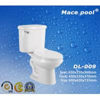 Best Two Piece Toilets with Siphonic Flushing S-Trap Roughing in (DL-009) wholesale