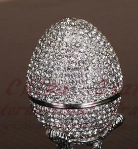 diamond egg jewely box,faberge egg