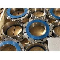 China WELDING NECK FLANGE AI ASTM A182 GR F51 S S31803 ASME B16.5 GROOVED FR 150PSI SCH10S 1 SUPERDUPLEX STAINLESS STEEL FLAN on sale