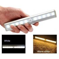Best Stick-on AAA Battery Wireless LED lighting Bar Motion Sensor Activated Cabinet Light wholesale