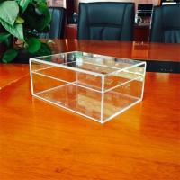 Best Customized Acrylic Box With Lids, Acrylic boxes with logo printing wholesale