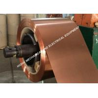 China DIN C1100 O Temper Copper Foil Strip 0.1mm To 2.5mm Thickness Pure Copper on sale