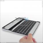 Best Aluminum Wireless Bluetooth Keyboard for iPad 2 P-iPAD2HCKBSO002 wholesale