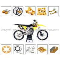 China Gold Silver Dirt Bike Parts CNC Milling Accessories With Stainless Steel Or Plastic Material on sale