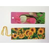 Best Custom 0.6 mm PET 3D Lenticular Bookmarks With Two Sides CMYK Printing ISO wholesale